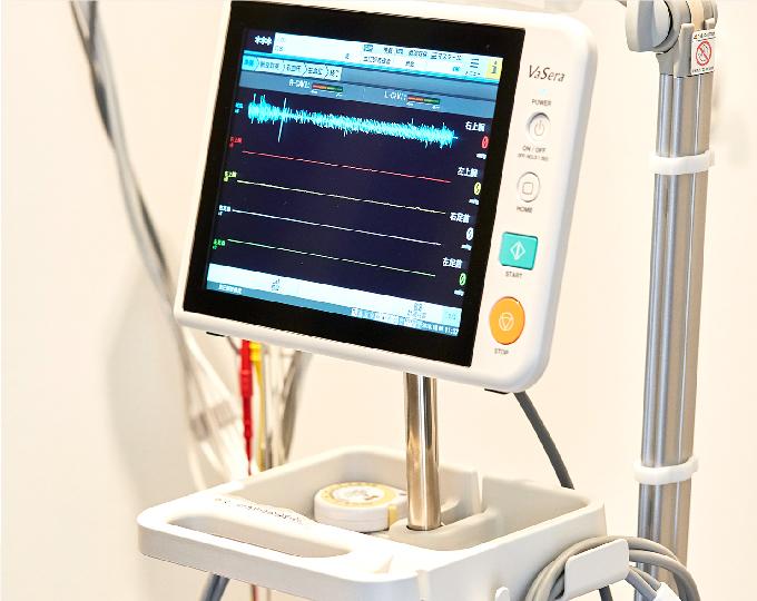心電図・血管年齢測定